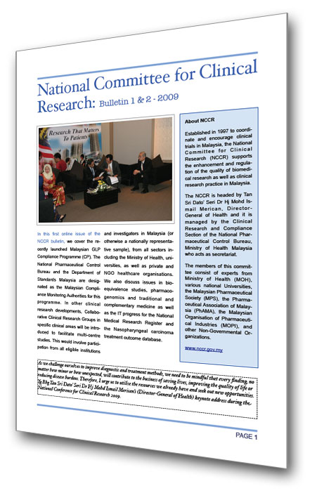 Click to download this NCCR Bulletin